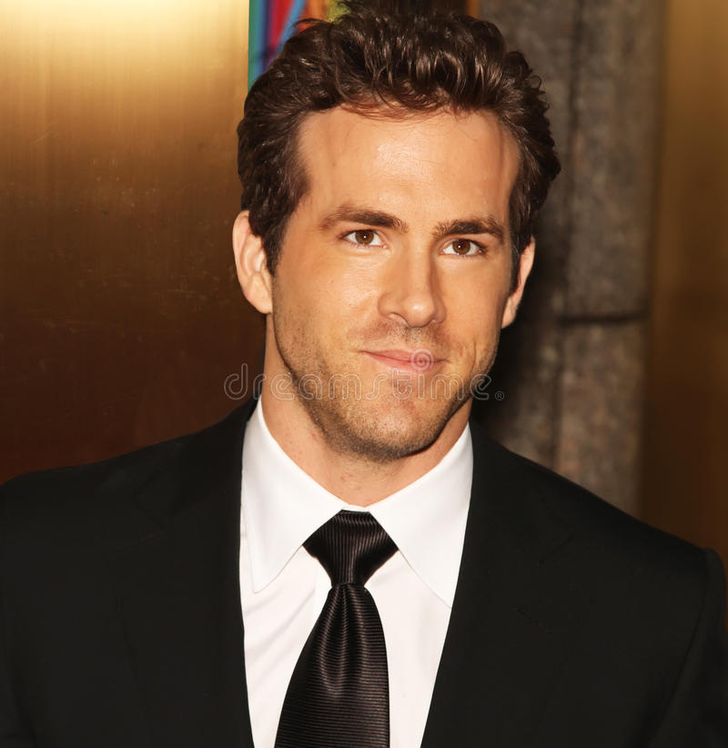 Ryan Reynolds photo libre de droits
