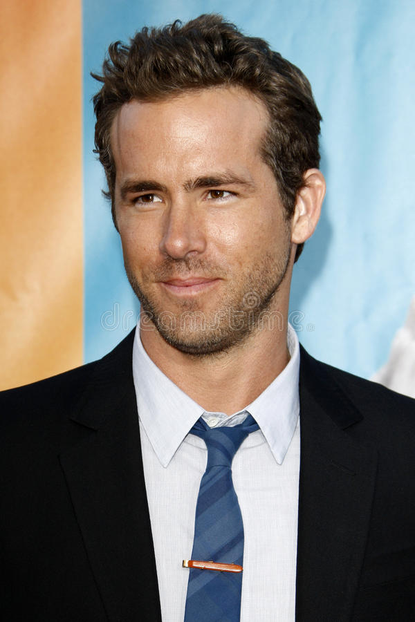 Ryan Reynolds images libres de droits
