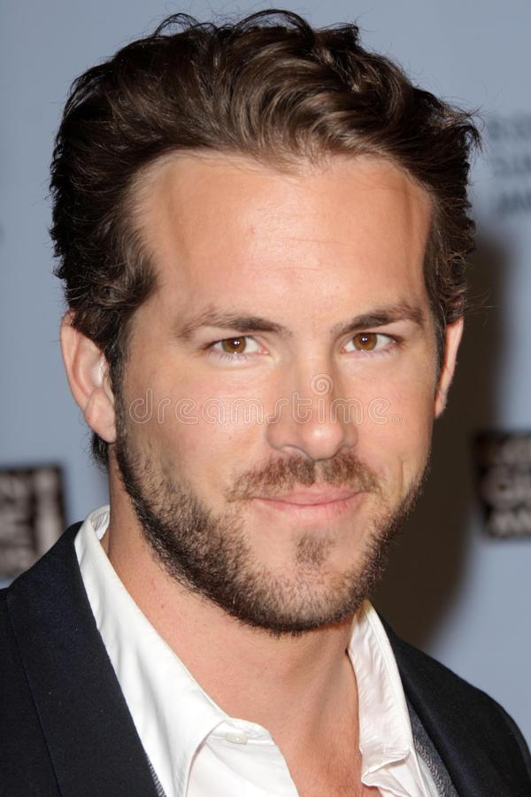 Ryan Reynolds. At the 65th Annual Golden Globe Award Nominations. Beverly Hilton Hotel, Beverly Hills, CA. 12-13-07 royalty free stock photography