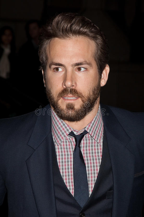 Ryan Reynolds photographie stock libre de droits