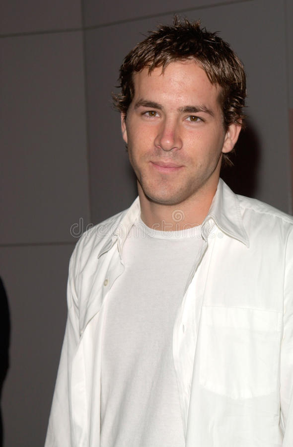 Ryan Reynolds. Actor RYAN REYNOLDS at the Los Angeles premiere of Beautiful stock photos
