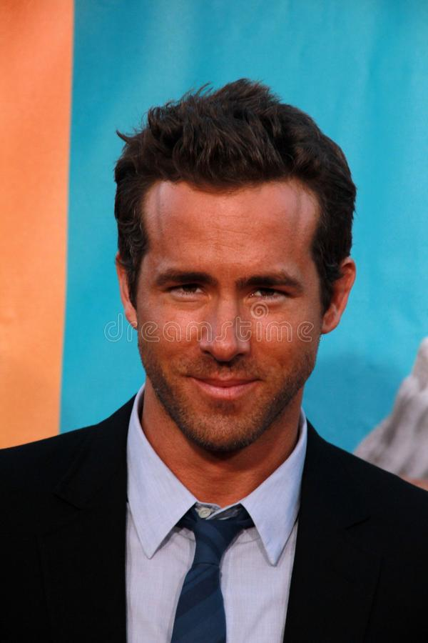 Ryan Reynolds. At 'The Change-Up' World Premiere, Village Theater, Westwood, CA. 08-01-11 royalty free stock image
