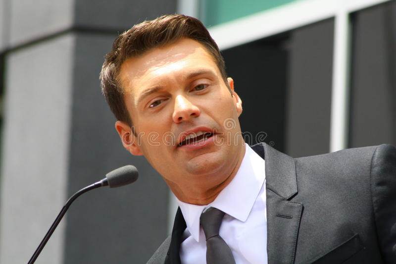 Ryan Seacrest royalty free stock photography