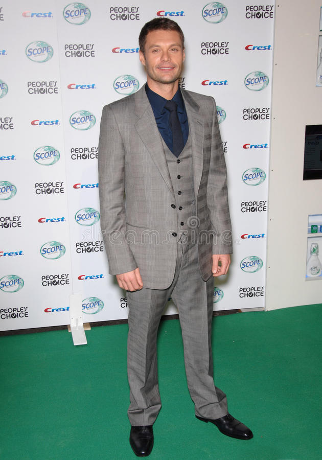 Download Ryan Seacrest Editorial Stock Photo - Image: 24001403