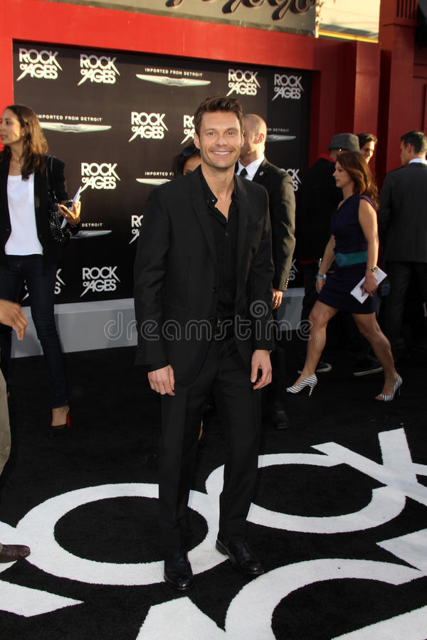 Download Ryan Seacrest editorial photography. Image of angeles - 25685777