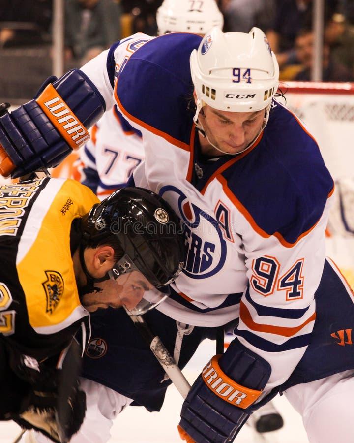 Ryan Smyth Edmonton Oilers arkivfoto