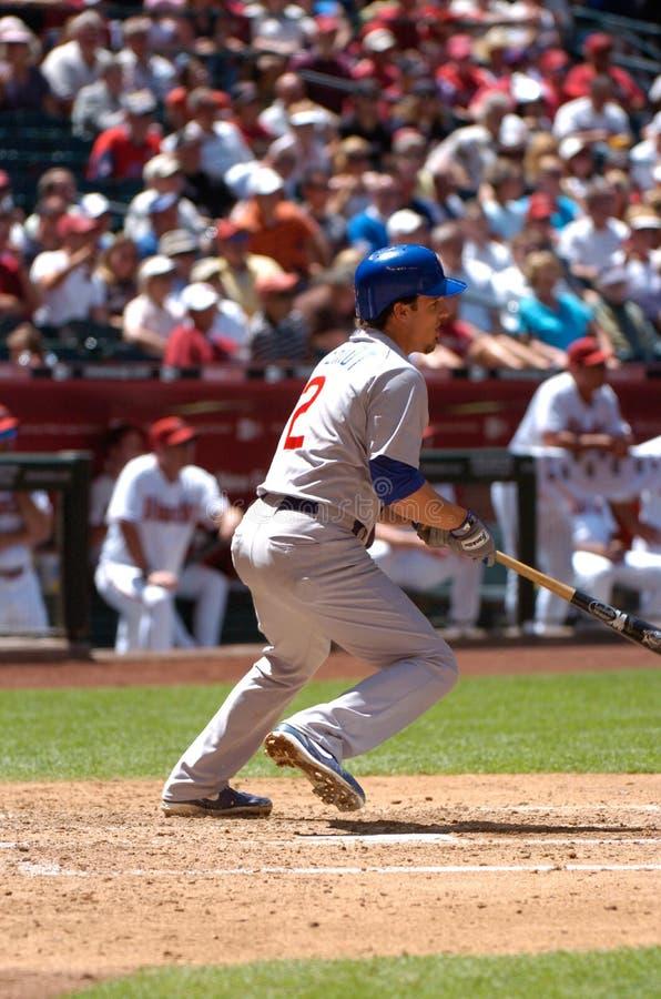 Ryan Theriot, Chicago Cubs infielder στοκ φωτογραφία με δικαίωμα ελεύθερης χρήσης