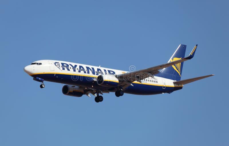 ryanair авиакомпаний воздушных судн стоковая фотография rf