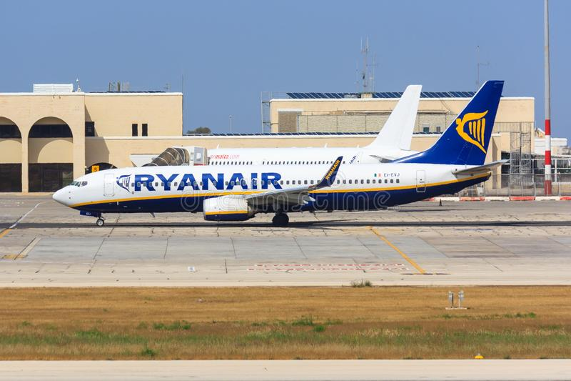 ryanair 737 Боинг стоковое фото rf