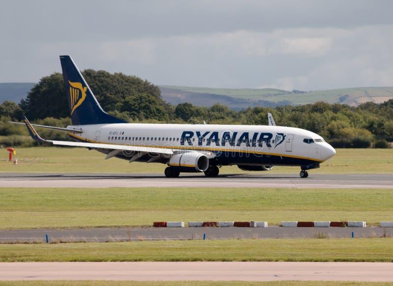 ryanair 737 Боинг стоковая фотография