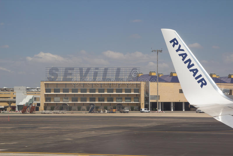 Ryanair royaltyfria foton
