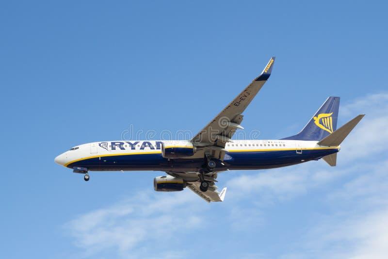 Ryanair fotografering för bildbyråer