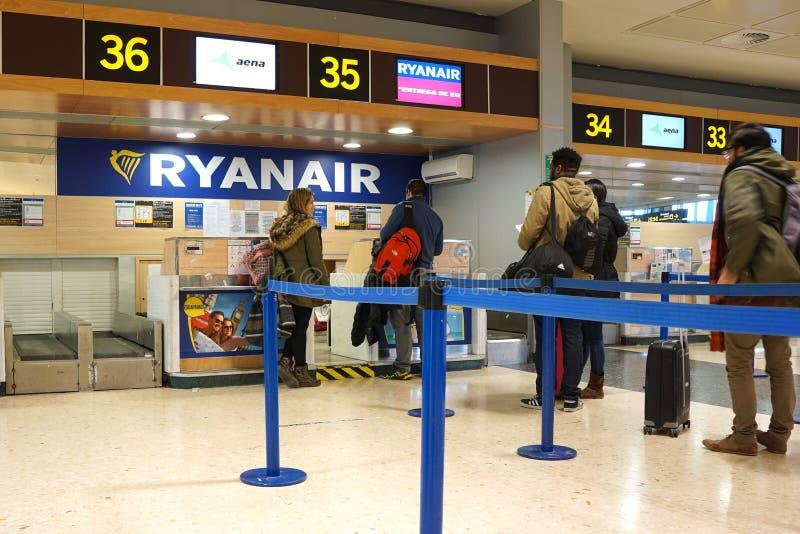 Ryanair royaltyfri fotografi