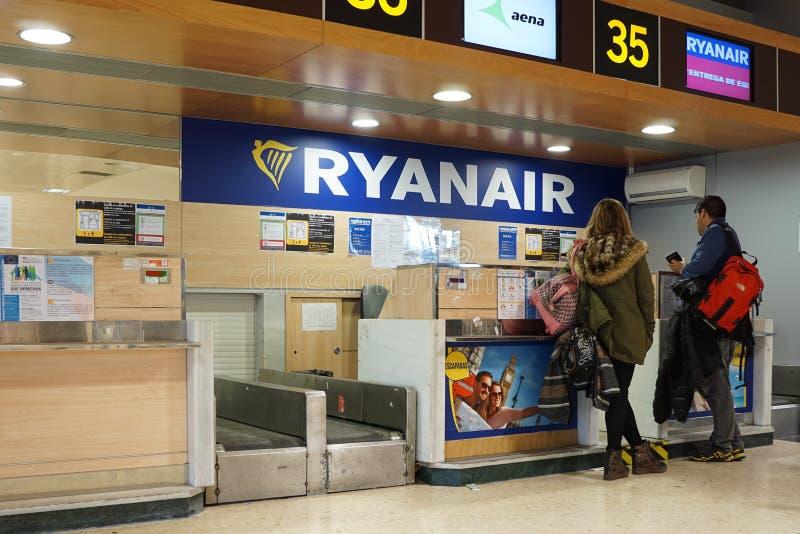 Ryanair стоковые изображения rf
