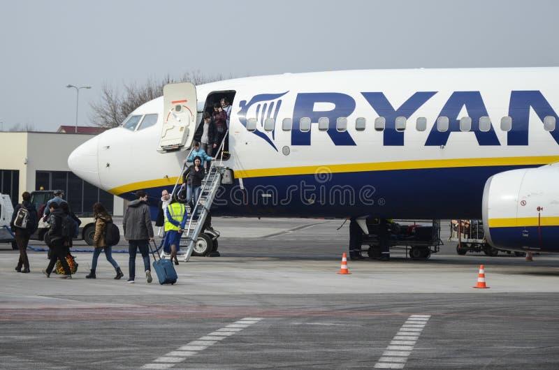 Ryanair royaltyfri foto