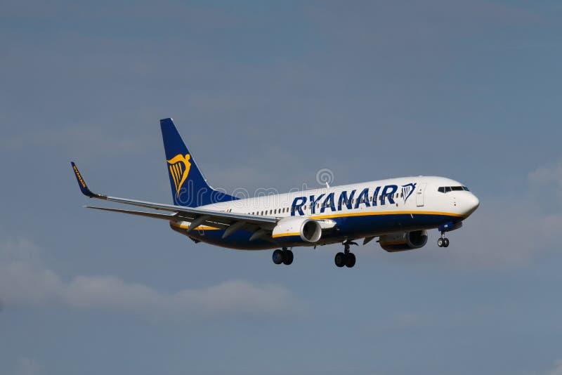 Ryanair royalty-vrije stock afbeelding