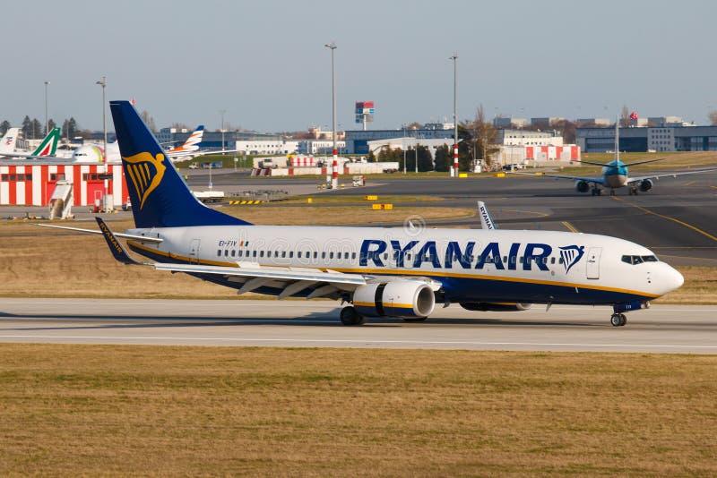 Ryanair royalty-vrije stock fotografie