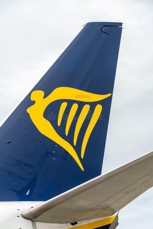 Ryanair aircraft stock photography