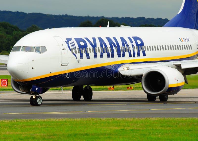Ryanair Boeing 737 images stock