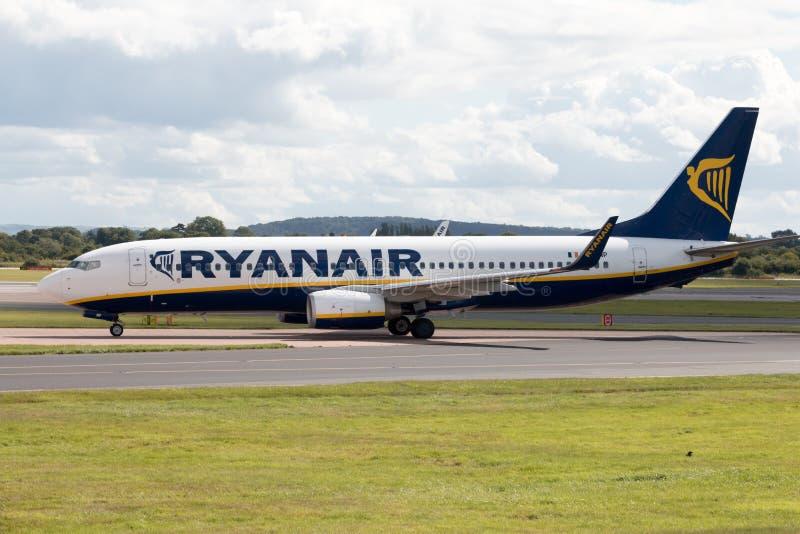 Ryanair Boeing 737 royalty free stock image