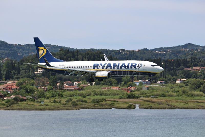Ryanair Boeing royalty free stock images