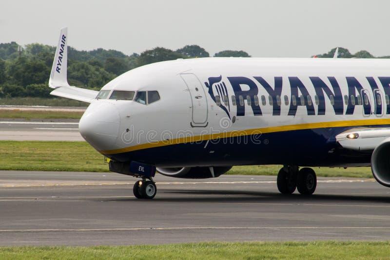 Ryanair Boeing 737 royalty free stock photography