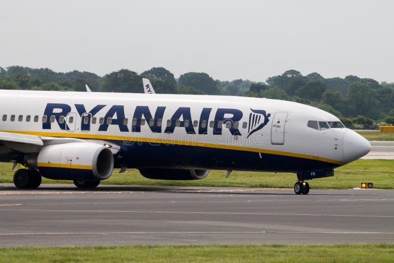 Ryanair Boeing 737 royalty free stock photos