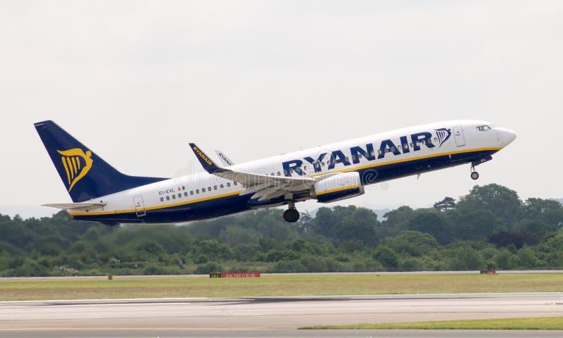 Ryanair Boeing 737 stock image