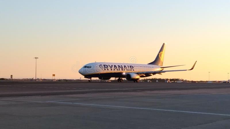Ryanair hebluje obraz stock