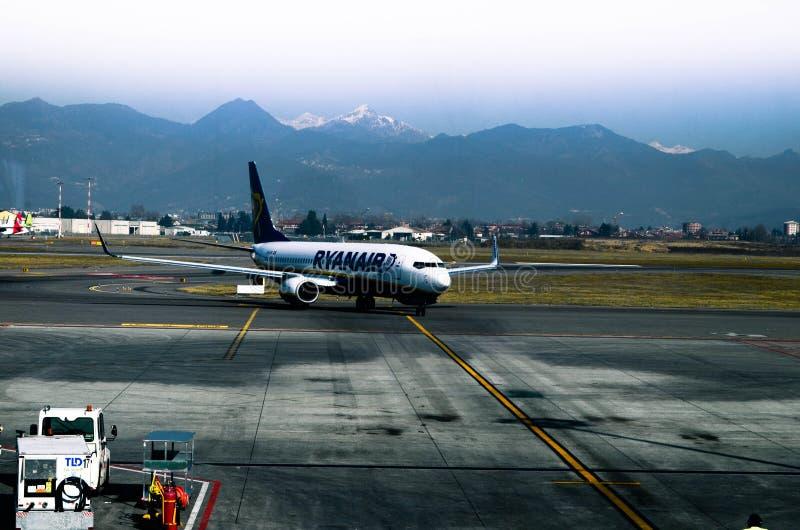 Ryanair hyvlar royaltyfri fotografi