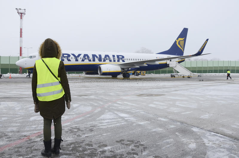 Ryanair royalty free stock photography