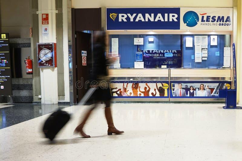 Ryanair royalty free stock photos