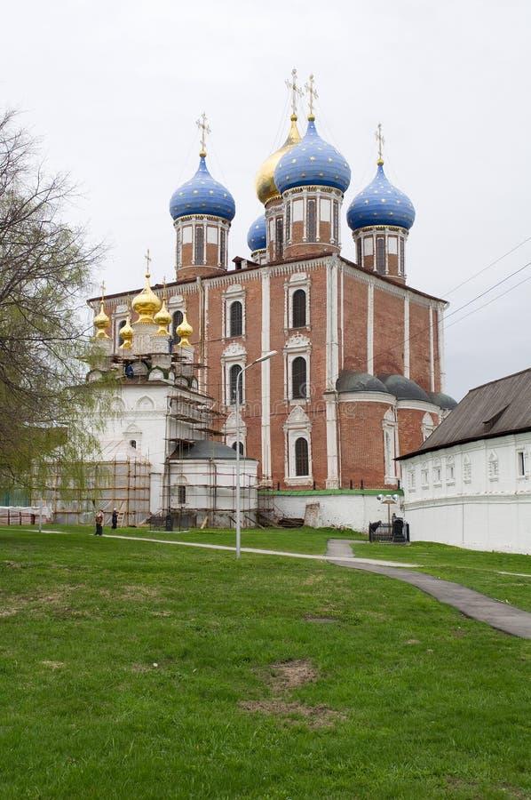 Ryazan het Kremlin. stock foto's