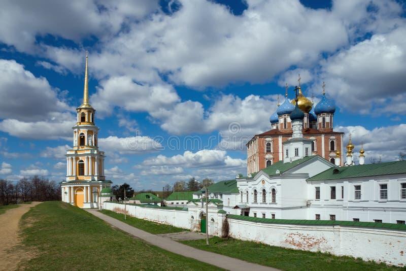 Ryazan Kreml. Ryssland royaltyfri foto