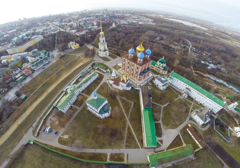 Ryazan kremlin fotografia de stock