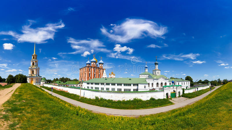 Ryazan kremlin fotografia de stock royalty free