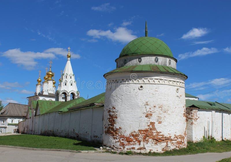 Ryazan Kremlin Russland lizenzfreies stockbild