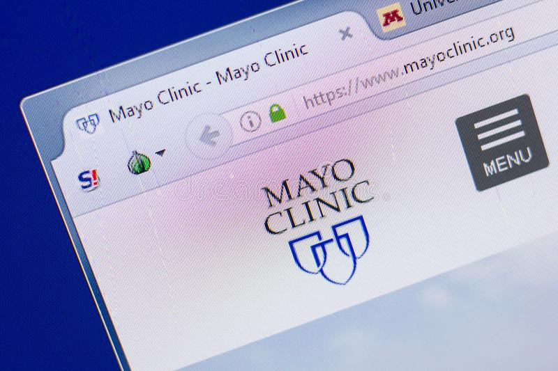 Mayo Clinic editorial image  Image of flag, rochester - 16918175