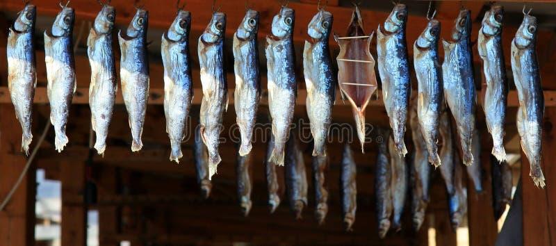 ryba dymił obraz stock