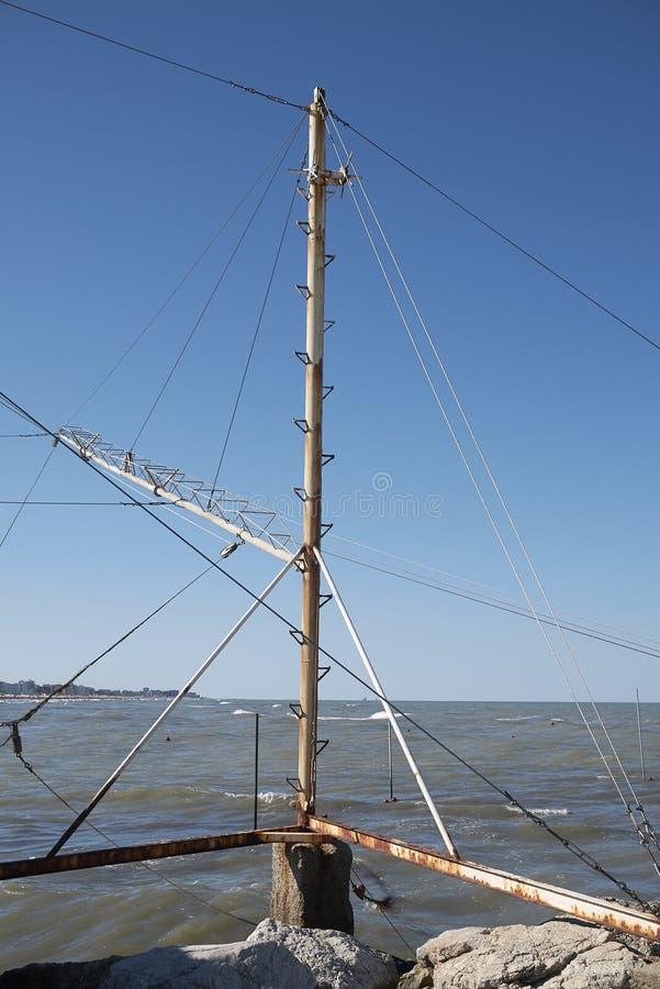 Ryba sieci struktura fotografia stock