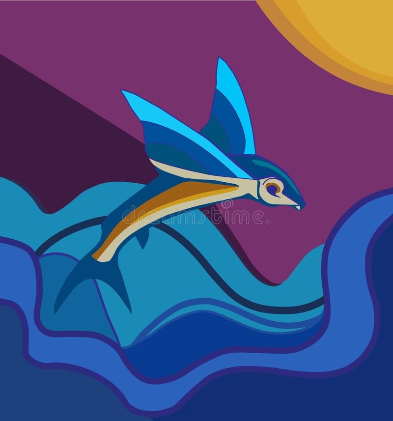 Ryba w morzu zdjęcia stock