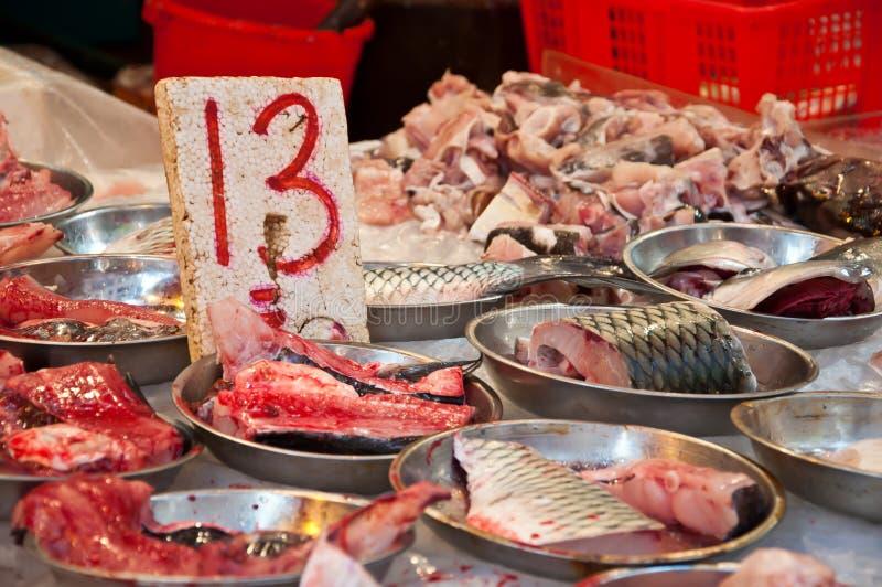 Ryba w rynku przygotowywającym dla bubla obraz royalty free
