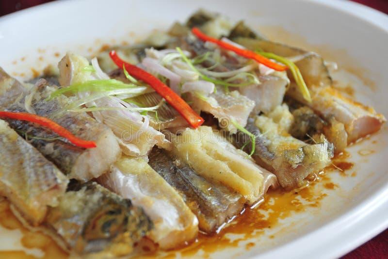 Ryba z warzywami fotografia stock