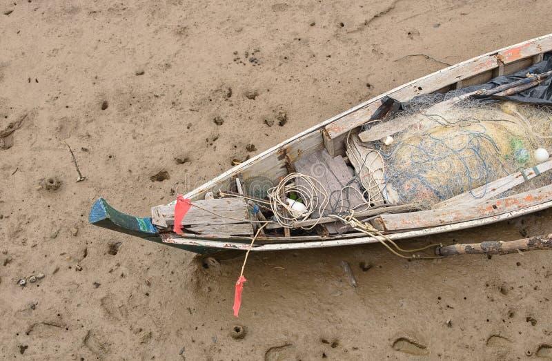 Rybak łódź obrazy stock