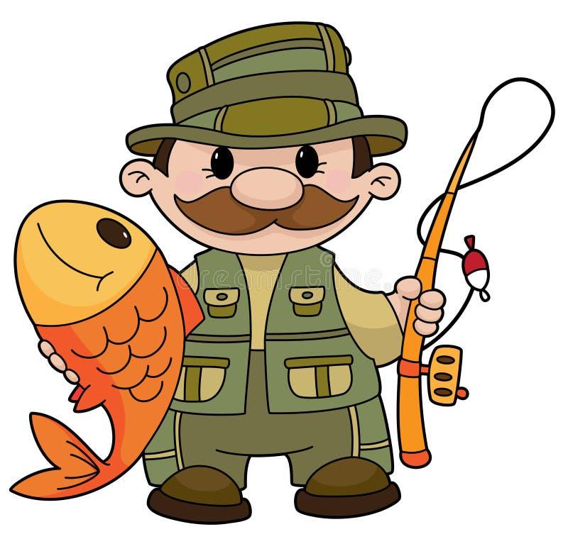 rybak ilustracji