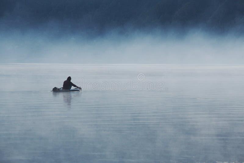 rybak 2 samotny fotografia royalty free