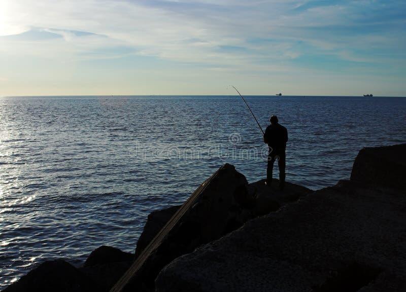 rybak fotografia stock