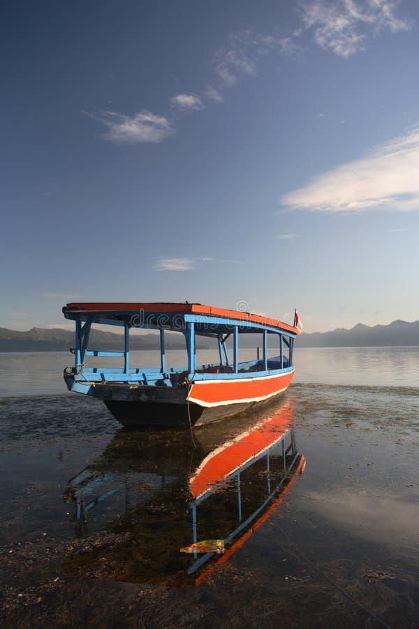 rybak tradycyjne łodzi obraz royalty free