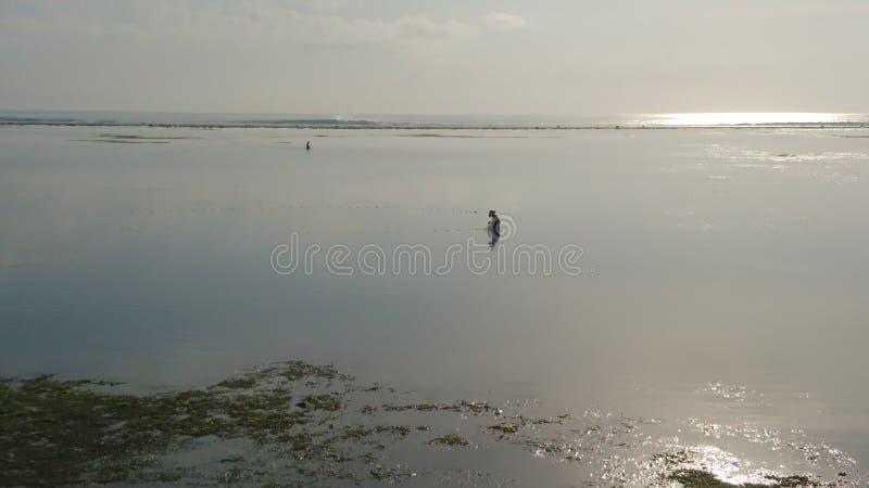 rybak z bali zdjęcie stock