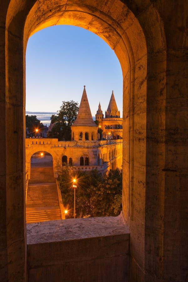 Rybaka bastion Budapest Węgry zdjęcie stock